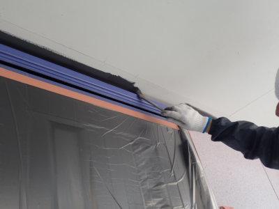 お施主様とコミュニケーション 外壁塗装の事なら浜松塗装専門店|加藤塗装 作業内容 軒天黒