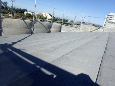 浜松市南区遠州浜Yさま邸屋根塗装完成しました 外壁塗装の事なら浜松塗装専門店|加藤塗装