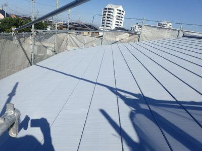 浜松市南区遠州浜Yさま邸屋根塗装完成しました 外壁塗装の事なら浜松塗装専門店|加藤塗装 高圧洗浄 錆止め塗装