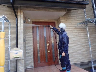 外壁&コンクリートの高圧洗浄 外壁塗装の事なら浜松塗装専門店|加藤塗装
