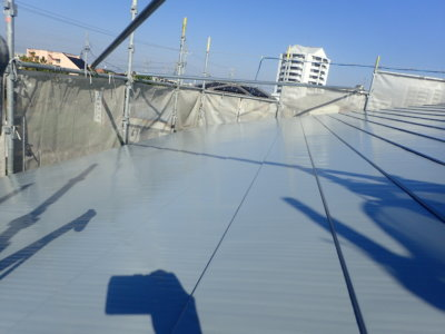 浜松市南区遠州浜Yさま邸屋根塗装完成しました 外壁塗装の事なら浜松塗装専門店|加藤塗装 高圧洗浄 錆止め塗装 下塗り塗装 上塗り塗装