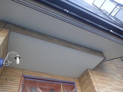 浜松市中区高林町Oさま邸 軒天の色を変える 外壁塗装の事なら浜松塗装専門店|加藤塗装