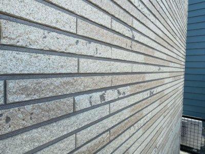 セミフロンスーパークリアー 外壁塗装の事なら浜松塗装専門店|加藤塗装 中区高林 レンガ調サイディングの塗替え 軒天色 KFケミカル