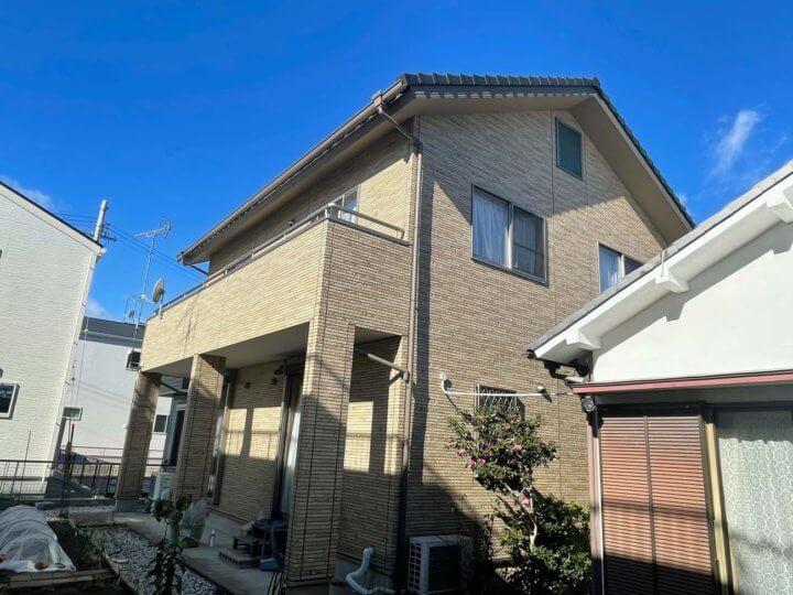 浜松市中区高林町Oさま邸 外壁塗装完成しました。