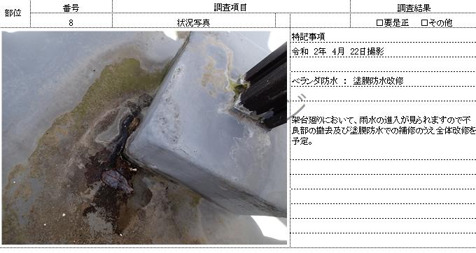 報告書2 現地調査書 外壁塗装の事なら浜松塗装専門店 加藤塗装