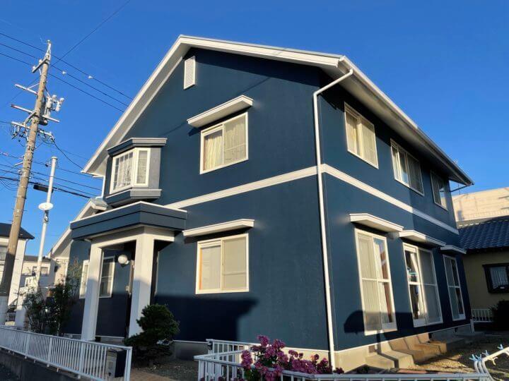 湖西市A様邸 外壁・屋根塗装完成しました。