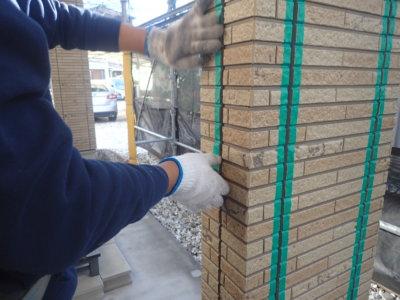 浜松市中区高林町Oさま邸シーリング改修工事外壁塗装の事なら浜松塗装専門店|加藤塗装 増し打ち オートンイクシード マスキングテープ