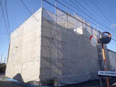 浜松市南区河輪町アパート塗装 JOY河輪 外壁塗装の事なら浜松塗装専門店|加藤塗装 クリスマス