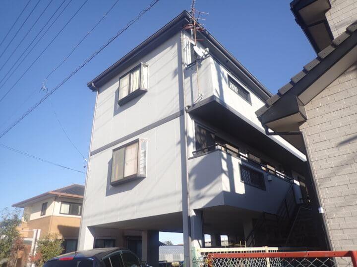浜松市東区大島町Sさま邸 屋根・外壁塗装完成しました。外壁塗装の事なら浜松塗装専門店|加藤塗装