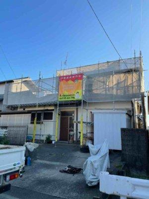 米津町 漆喰改修工事 外壁塗装の事なら浜松塗装専門店|加藤塗装
