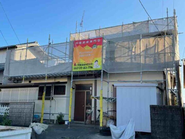米津町 漆喰改修工事 外壁塗装の事なら浜松塗装専門店 加藤塗装