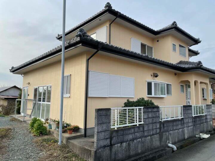 浜松市浜北区新所原 Iさま邸 外壁塗装完成しました。外壁塗装の事なら浜松塗装専門店|加藤塗装