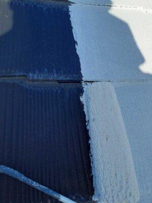 外壁屋根塗装工事 2021年 外壁塗装の事なら浜松塗装専門店|加藤塗装 カラーベスト屋根 タスペーサーとは 必要か 下塗り塗装 スレート