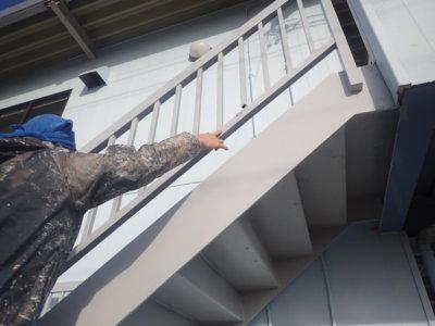 新春 外壁塗装の事なら浜松塗装専門店|加藤塗装 外階段 補修