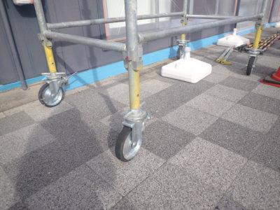 塗装職人ひみつ道具 外壁塗装の事なら浜松塗装専門店 加藤塗装 テーププライマー 3M 移動式足場