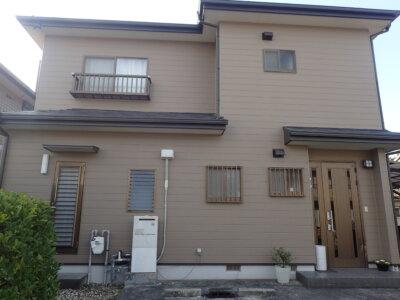 浜松市南区遠州浜 Sさま邸 外壁塗装完成しました。外壁塗装の事なら浜松塗装専門店|加藤塗装