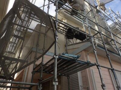 浜松市南区三島町 施工事例 外壁塗装の事なら浜松塗装専門店|加藤塗装 架設時の注意点 令和3年