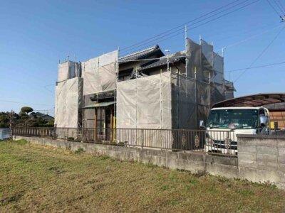 浜松市南区西島町 施工事例 外壁塗装の事なら浜松塗装専門店|加藤塗装