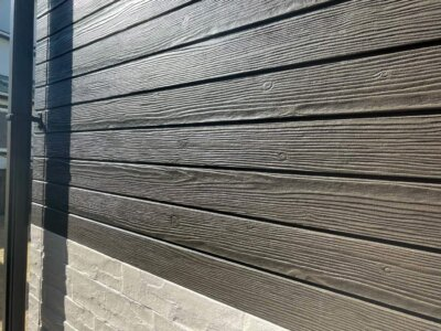 浜松市南区遠州浜 戸建住宅 施工事例 無機ハイブリッドクリヤー アステックペイント 外壁塗装の事なら浜松塗装専門店|加藤塗装 プレミアムシリコン エスケー化研 木目調サイディング パインウッド 塗料料金 価格 格安 最新 最安値