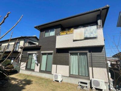 浜松市南区遠州浜 Yさま邸 外壁塗装工事が完成しました。外壁塗装の事なら浜松塗装専門店|加藤塗装