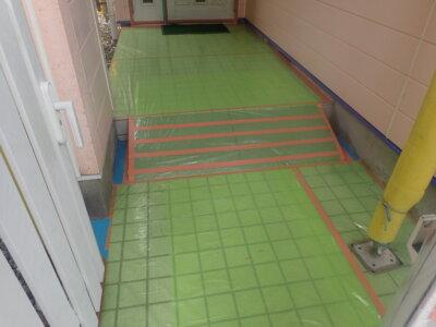 浜松市南区三島町 施工事例 養生 外壁塗装の事なら浜松塗装専門店|加藤塗装