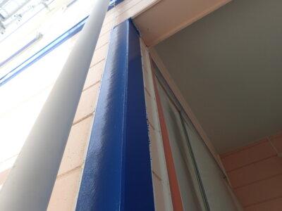 カラーシュミレーション ツートン 青と白 外壁塗装の事なら浜松塗装専門店 加藤塗装 お洒落