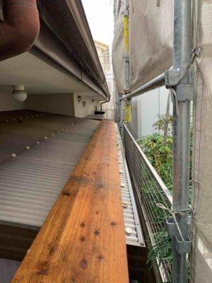 足場架設 中区佐鳴台 外壁塗装の事なら浜松塗装専門店|加藤塗装 狭所でも大丈夫 塗料 最新 ポリカ波板