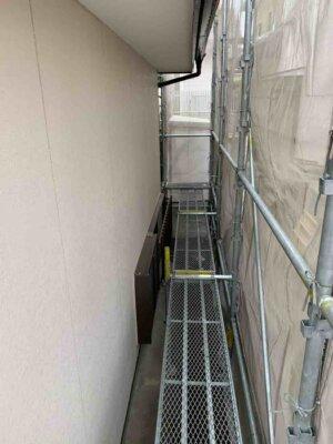 足場架設 中区佐鳴台 外壁塗装の事なら浜松塗装専門店|加藤塗装 狭所でも大丈夫 塗料 最新