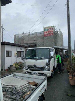 東区豊西町 施工事例 外壁塗装の事なら浜松塗装専門店|加藤塗装