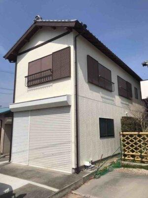 浜松市浜北区中瀬 Kさま長屋 外壁塗装完成しました。外壁塗装の事なら浜松塗装専門店|加藤塗装