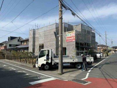浜松市南区西町 施工事例 外壁塗装の事なら浜松塗装専門店|加藤塗装