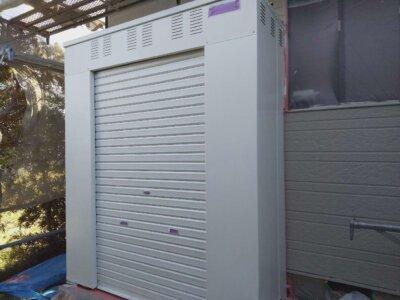 アパート ガス庫 塗装 外壁塗装の事なら浜松塗装専門店|加藤塗装