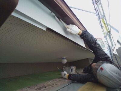 中区佐鳴台 戸建住宅 施工事例 外壁塗装の事なら浜松塗装専門店|加藤塗装 和風住宅 モダンな家 塗料 スチール破風