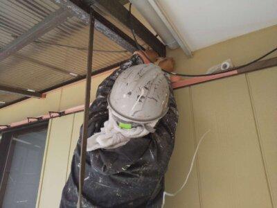 浜松市南区長田町 施工事例 養生作業 外壁塗装の事なら浜松塗装専門店|加藤塗装 令和3年 新年度