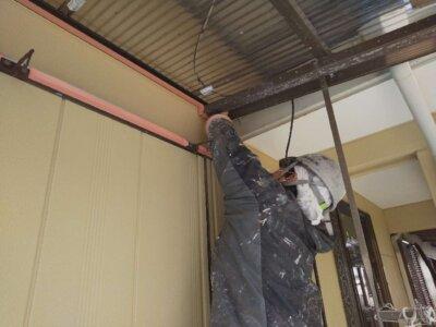 浜松市南区長田町 施工事例 養生作業 外壁塗装の事なら浜松塗装専門店|加藤塗装 令和3年 新年度 ポリカ波板