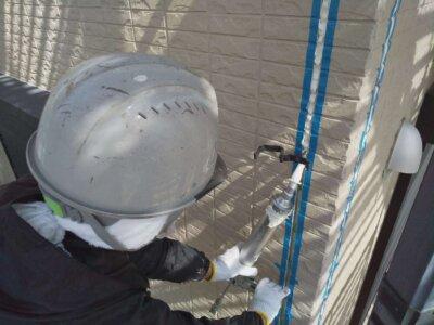浜松市南区西町 施工事例 オートンイクシード シーリング改修工事 外壁塗装の事なら浜松塗装専門店|加藤塗装 コーキング補修 丁寧な施工 地域密着