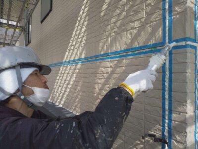 浜松市南区西町 施工事例 オートンイクシード シーリング改修工事 外壁塗装の事なら浜松塗装専門店|加藤塗装 コーキング補修 丁寧な施工 地域密着 創業98年