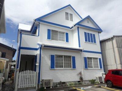 浜松市南区三島町 Sさま邸 屋根・外壁塗装完成しました。外壁塗装の事なら浜松塗装専門店|加藤塗装