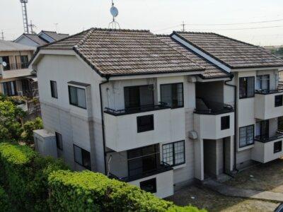 磐田市千手堂 アパート施工事例 外壁塗装の事なら浜松塗装専門店|加藤塗装