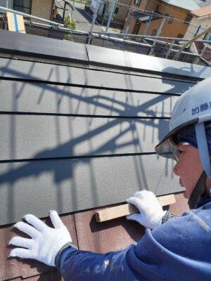 屋根カバー工法 シーガード 外壁塗装の事なら浜松塗装専門店|加藤塗装 施工方法