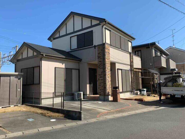 浜松市西区坪井町 Mさま邸 屋根・外壁塗装が完成しました。外壁塗装の事なら浜松塗装専門店|加藤塗装