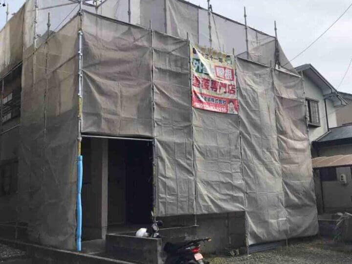 湖西市白須賀 施工事例 外壁塗装の事なら浜松塗装専門店|加藤塗装