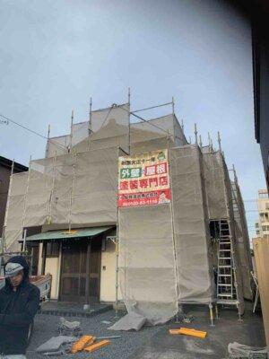 領家 施工事例 外壁塗装の事なら浜松塗装専門店 加藤塗装