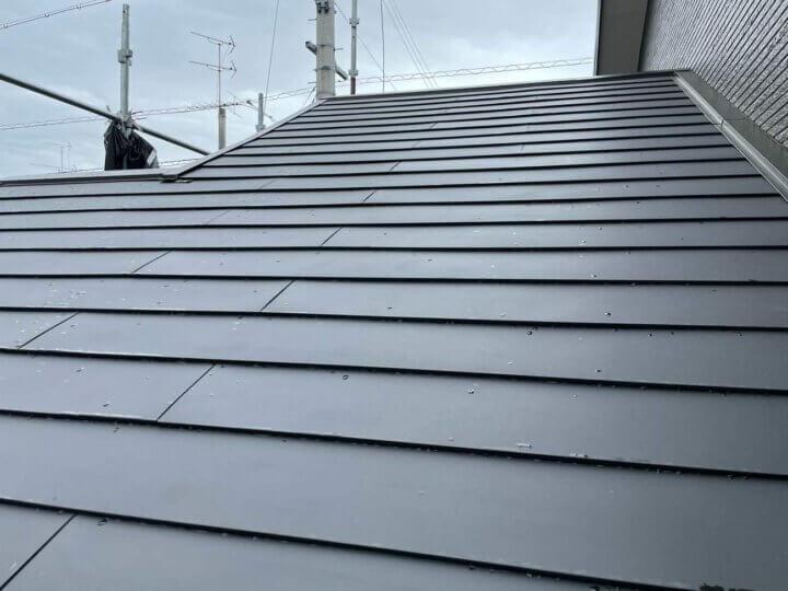 屋根カバールーフ工法完成