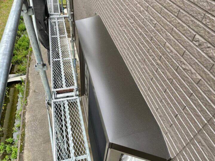 出窓屋根塗装完成