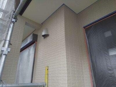 浜松市中区神田町 スイーツバンク オープン 外壁塗装の事なら浜松塗装専門店|加藤塗装 上塗り完成 施工事例