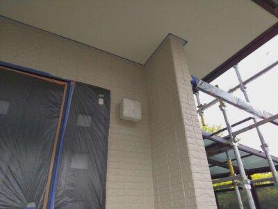 浜松市中区神田町 スイーツバンク オープン 外壁塗装の事なら浜松塗装専門店|加藤塗装 上塗り完成 施工事例 エスケー化研