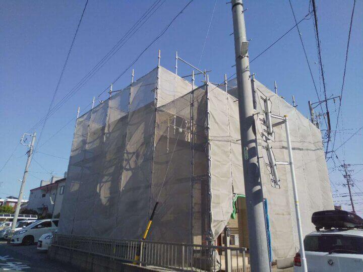 浜松市南区若林町 施工事例 外壁塗装の事なら浜松塗装専門店|加藤塗装