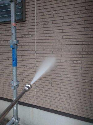浜松市南区東若林町 施工事例 高圧洗浄 屋根 外壁塗装の事なら浜松塗装専門店|加藤塗装 外壁レンガ調