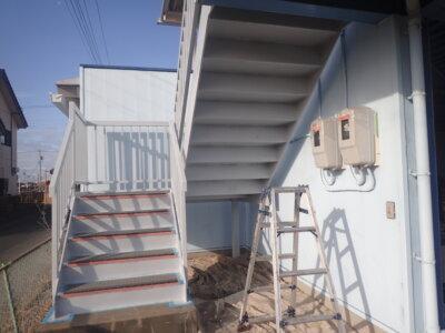 下塗り塗装 錆止め 屋根 外壁塗装の事なら浜松塗装専門店|加藤塗装 板金 塩害 被害 出窓鉄部 令和3年 施工事例 エスケー化研 マイルドボーセイ 外階段 鉄骨